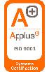Acreditación Applus ISO 9001