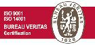 Acreditación Bureau Veritas ISO 9001 ISO 14001 Refrimar