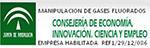 Andalucía Manipulación de gases acreditación