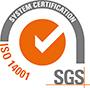 Logo ISO SGS 14001