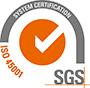 Logo ISO SGS 45001