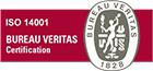 Logo Bureau Veritas ISO 14001