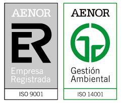 Acreditación AENOR 9001 - 14001