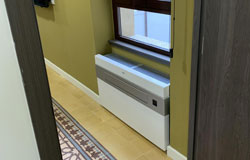 Climatizador sin unidad exterior Aeroconfort en Hotel