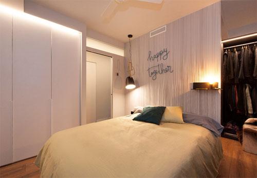 Dormitorio del proyecto Almeda con sistema de climatización Airzone