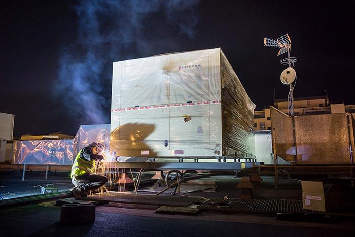 Aldania sustituye equipos industriales de climatización en Madrid