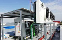 Instalación de CO2 transcrítico de BEIJER REF en Mercabarna