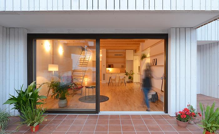 Vivienda preindustrializada madera y de bajo consumo