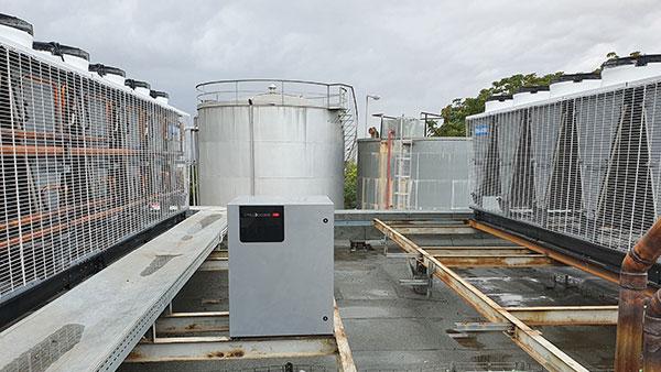 Instalación refrigeración Ebrofrio Makro Badalona