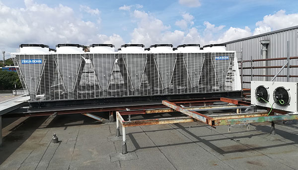 Instalación refrigeración Marko Badalona realizado por Ebrofrío