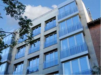 Rehabilitación edificio Zurbaran Madrid