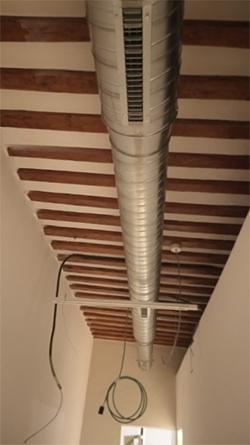 Instalación Eficiencia Bioclimática Climatización fancoils y producción ACS