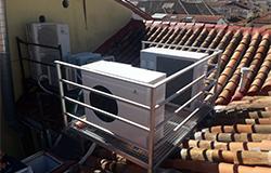 Eficiencia Bioclimática instalación climatización con aerotermia y producción ACS