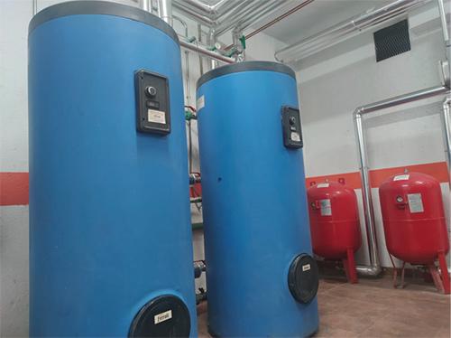 Renovación sala calderas gasoleo Electro-clisa