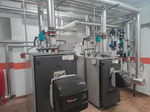Renovación sala calderas de gasoleo por Electro-clisa