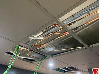 Falso techo instalación climatización factor clima