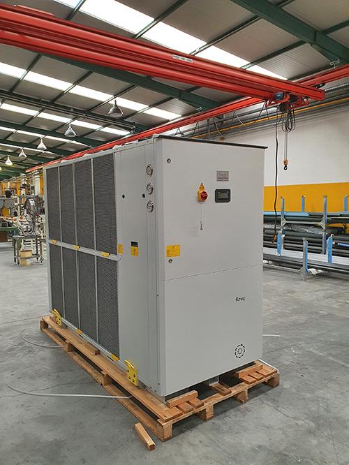instalación enfriadora industrial por Galván Frío Industrial
