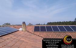 Instalación fotovoltaica autoconsumo Ingeosolar