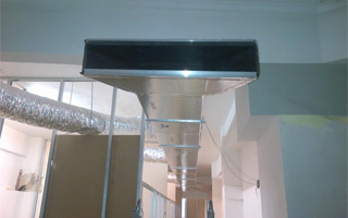 Instalación de aire acondicionado por conductos