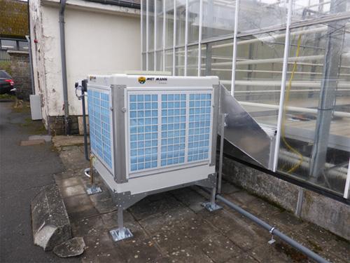 Climatizador evaporativo de Met Mann