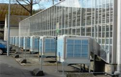 Instalación de climatización evaporativa Met Mann en invernadero tecnológico