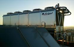 Equipo refrigeración adiabático Frigel