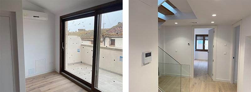 Instalación aerotermia climatización recuperador de calor Seit Instalaciones Tarragona