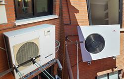 Sustitución bomba de calor Saunier Duval por Eficiencia Bioclimática