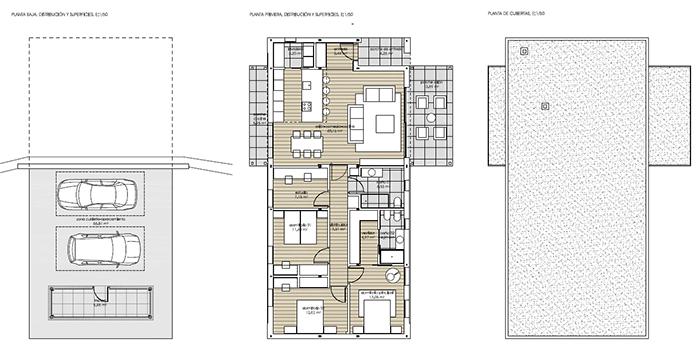 planos vivienda eficiente thermochip