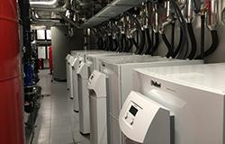 Vaillant instalación de geotermia centralizada