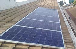 sistema de placas solares fotovoltaicas