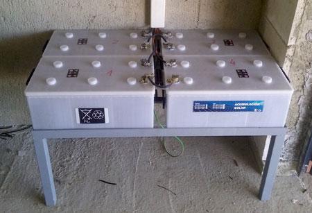 4 Baterías Monoblock