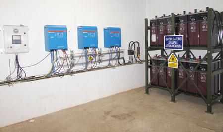 Baterías para acumular energía eléctrica