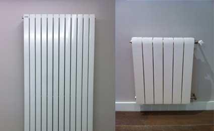 Radiador toallero y radiador de agua