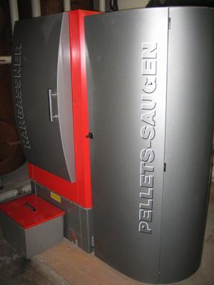 Caldera de pellets  Hargassner  100 kW