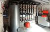 Foto de instalación de caldera de Gasoil en edificio de apartamentos