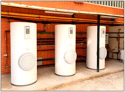 Instalación solar térmica con acumulación para ACS