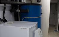 Bombas de calor instaladas para geotermia