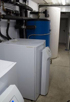 Reparación de la instalación de geotermia con bombas de calor
