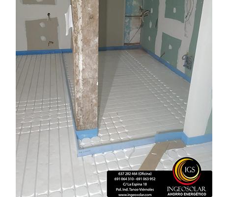 paneles aislantes suelo radiante y tubo multicapa ingeosolar