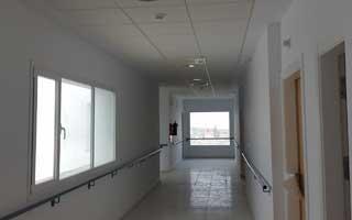 Pasillo de Centro Residencial de Mayores y Personas Dependientes de Estepa