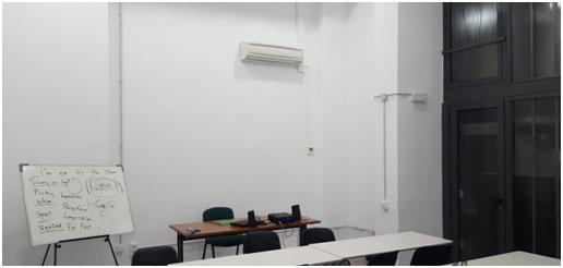 Instalación de unidad interior en despacho