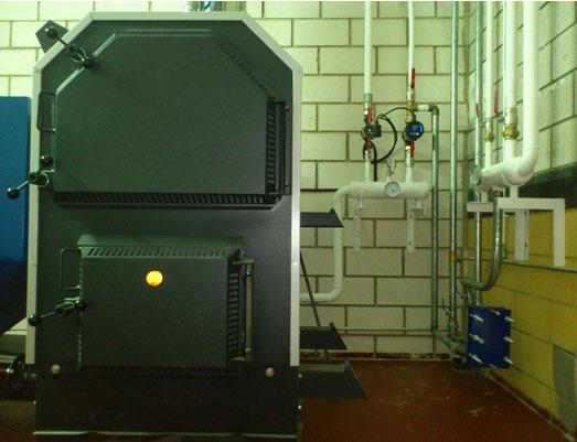 caldera de biomasa de gran potencia