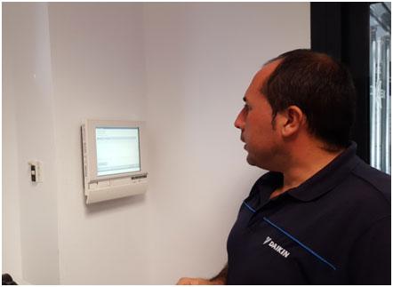 Monitorización de consumos con sistema ITM de Daikin