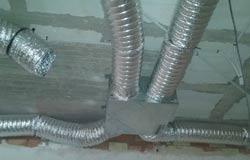 Preinstalación de aire acondicionado por conductos