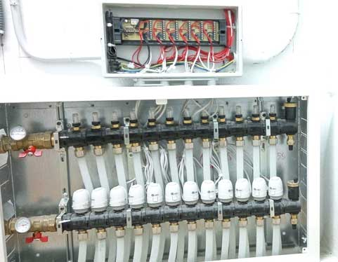 cabezas termostáticas suelo radiante