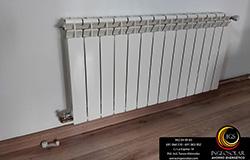 Instalación de radiador por Ingeosolar