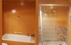 reforma de baño  de Saneamientos Almazan
