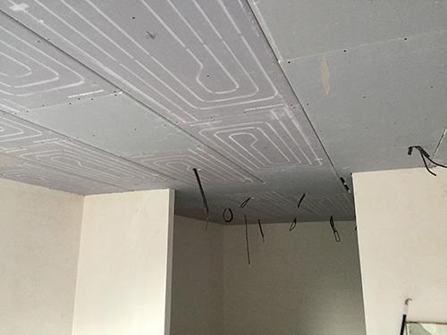 instalación de techo radiante de Seit Instalaciones