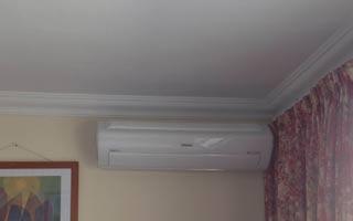 instalación aire acondicionado bomba de calor